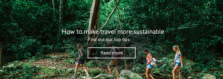 How to make travel more sustainable